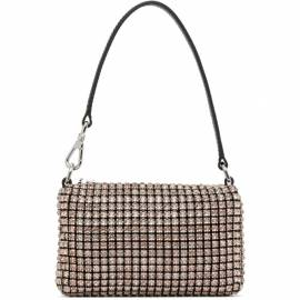 Alexander Wang Black and Pink Mini Rhinestone Wangloc Bag von Alexander Wang