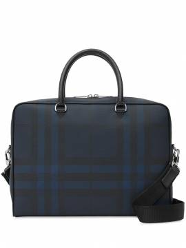 Burberry London check briefcase - Blau von Burberry