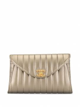 Chanel Pre-Owned 1992 Mademoiselle Party Clutch - Gold von Chanel