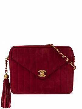 Chanel Pre-Owned Mademoiselle Schultertasche - Rot von Chanel