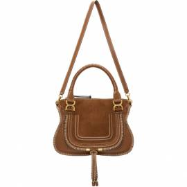 Chloe Tan Medium Whipstitch Marcie Bag von Chloe