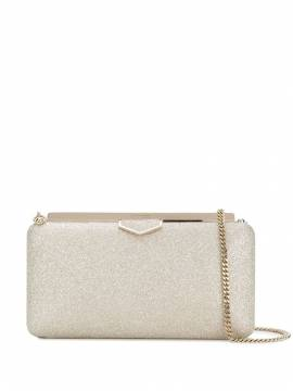 Jimmy Choo 'Ellipse' Clutch mit Paillettenstickerei - Metallisch von Jimmy Choo