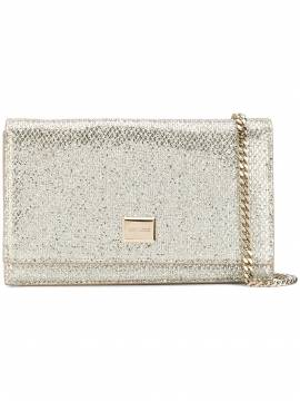 Jimmy Choo 'Lizzie' Mini-Clutch - Nude von Jimmy Choo