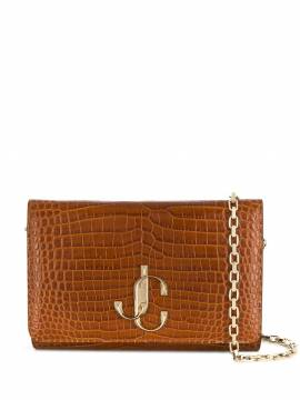 Jimmy Choo 'Varenne' Clutch - Braun von Jimmy Choo