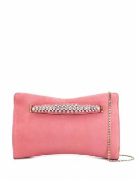 Jimmy Choo 'Venus' Clutch - Rosa von Jimmy Choo