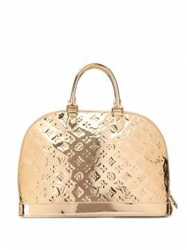 Louis Vuitton 'Alma MM' Handtasche - Gold von Louis Vuitton