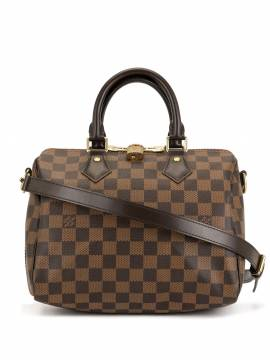 Louis Vuitton 'Speedy Bandouliere 25 2way' Handtasche - Braun von Louis Vuitton