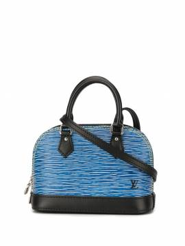 Louis Vuitton Nano Alma Handtasche - Blau von Louis Vuitton