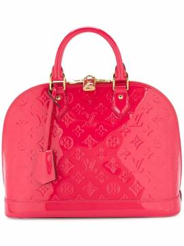 Louis Vuitton 'Vernis Alma MM' Handtasche - Rot von Louis Vuitton