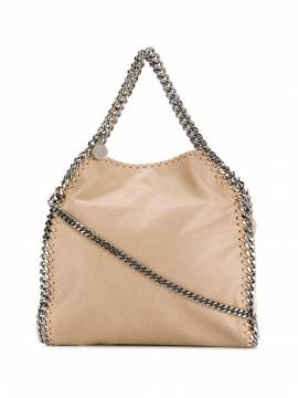 Stella McCartney small Falabella shoulder bag - Nude von Stella McCartney